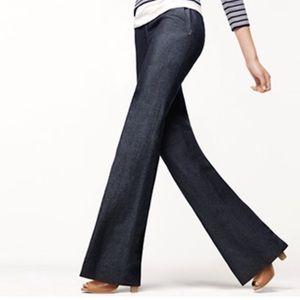 Banana Republic trouser jeans flare boot cut sz 4